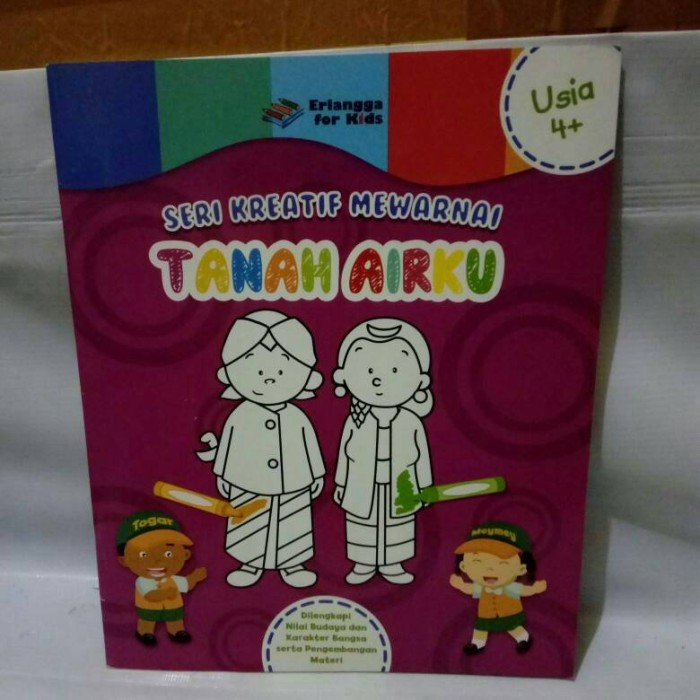 Jual Seri Kreatif Mewarnai Tanah Airku Buku Iseng Tokopedia