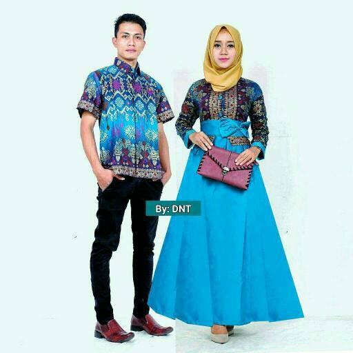 harga Sarimbit batik solo. couple gamis batik kencana etnic series Tokopedia.com
