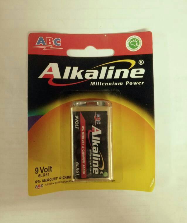 Baterai Alkaline 9volt (u/mic)
