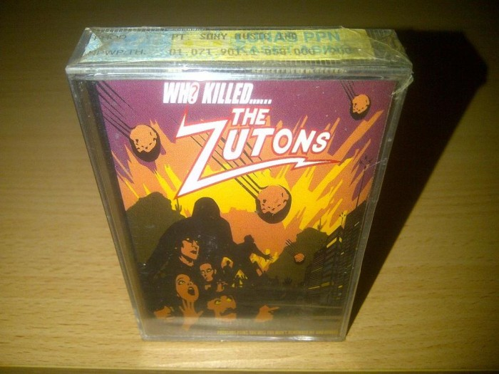 The zutons - who killed the zuton original kaset segel the strokes 27142f97d6