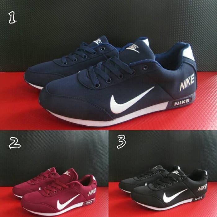 Sepatu Casual Pria Nike Neo Sneakers Running Main Import Murah
