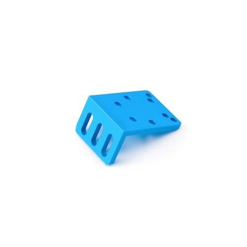 Makeblock 3v/4v solenoid valve bracket - blue