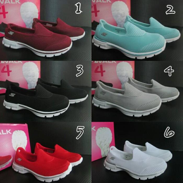 Jual Sepatu Skechers Go Walk Wanita Murah Sepatu Slip On Slop Wanita ... e4d3b14786