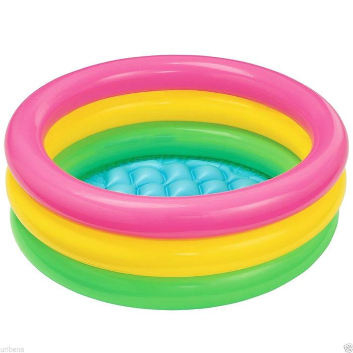 Kolam renang intex sunset glow baby pool-58924