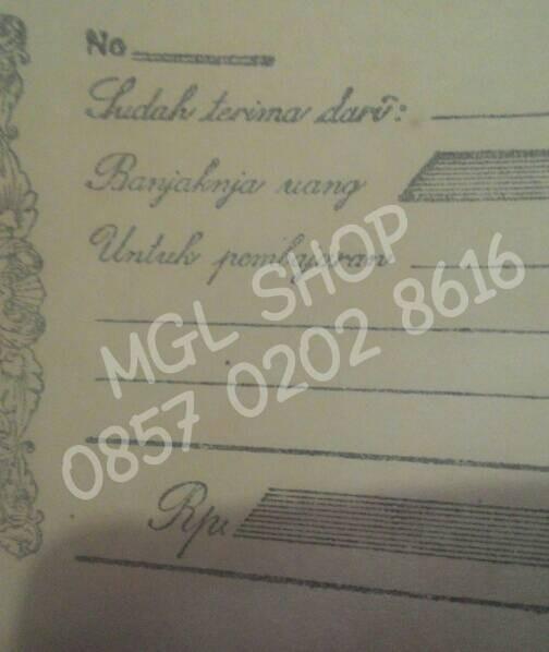 Jual Kuitansi Kwitansi Kertas Lama Tahun Dulu Jadul Kuno Angka 19 Mulus Kota Magelang Mgl Shop Tokopedia
