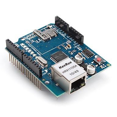 Foto Produk Ethernet SHield For Arduino Board Wiznet  W5100 dari Paul Hobby Shop