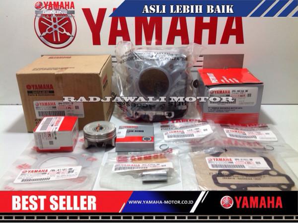harga Blok seher,piston kit, paking head,paking blok mio m3,soul gt125 asli Tokopedia.com