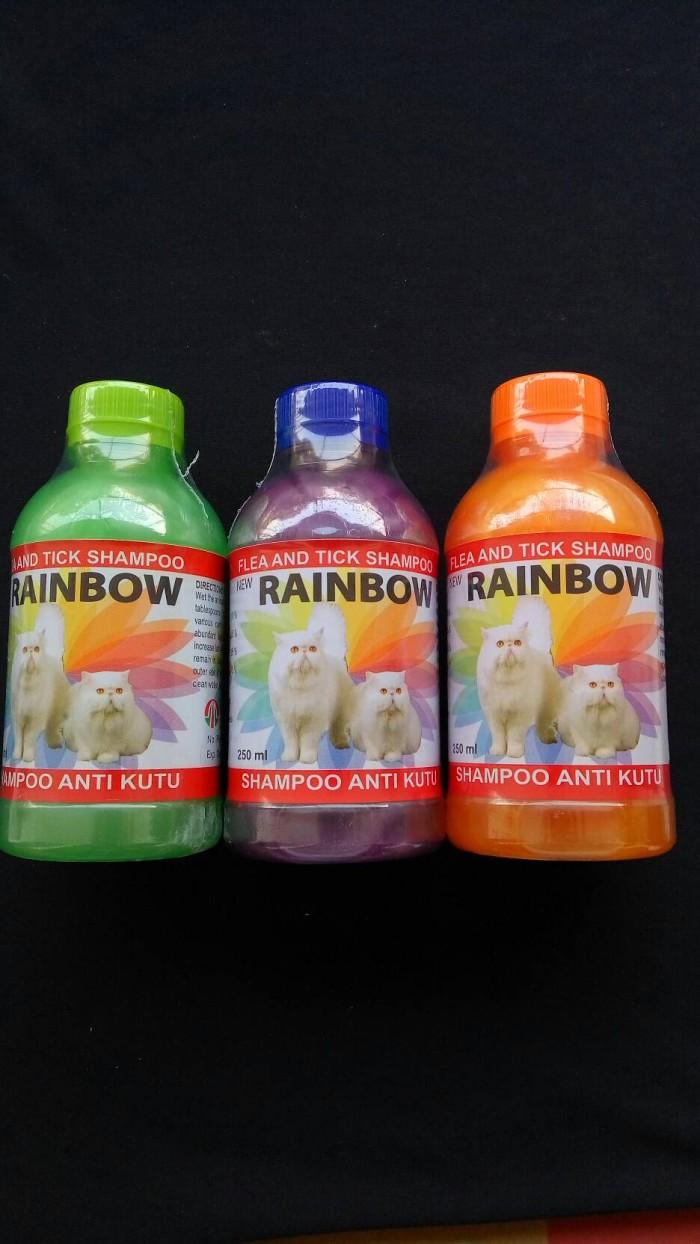 Obat Hewan Shampoo Anti Kutu Rainbow Cat Daftar Harga Terlengkap Shampo Sampo Lice Untuk Kucing 250 Ml