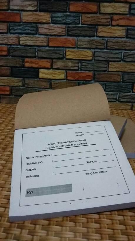 Jual Kwitansi Untuk Kostkontrakan Dki Jakarta Toko Abthar Tokopedia