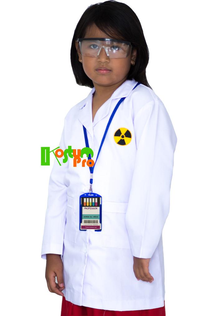 harga Kostum jas lab anak uk 6 (6-7 tahun) +kacamata +name tag Tokopedia.com