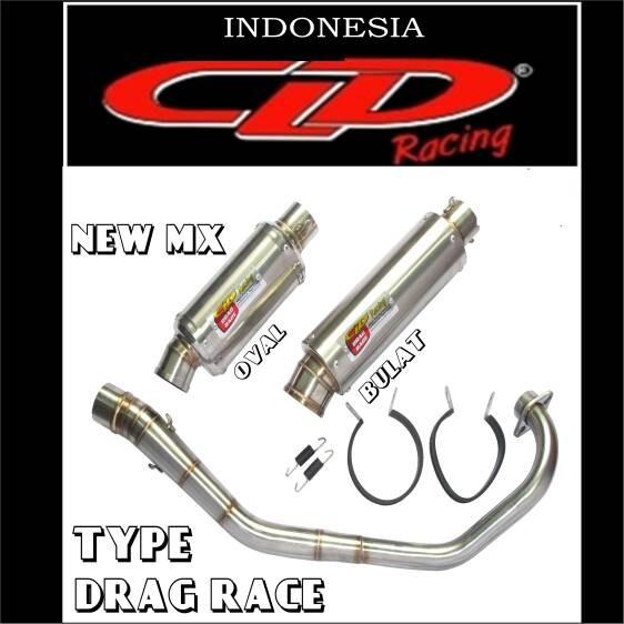 harga Knalpot cld drag race new jupiter mx silencer bulat doff Tokopedia.com