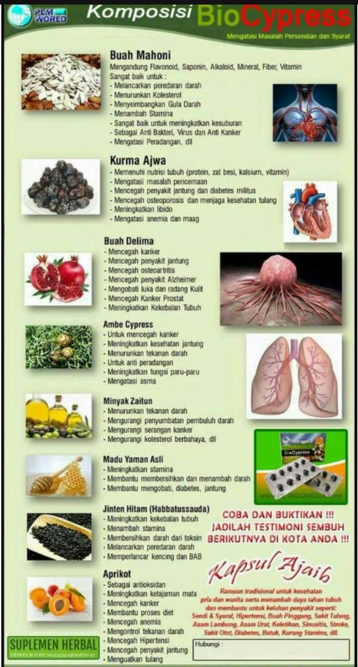 Jual Paket Bio Cypress Sendi Saraf For Member Only Biocypress Obat Sakit Dan