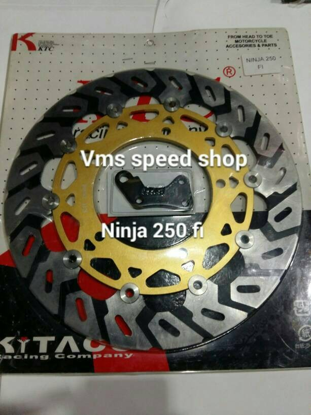 harga Disc ktc ninja 250 fi/ piringan ninja 250 fi/ cakram ktc ninja 250 fi Tokopedia.com