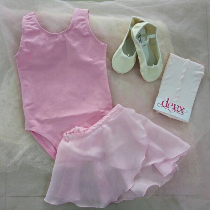 harga Baju ballet anak paket a(baju,stocking,sepatu ballet, rok chiffon) Tokopedia.com
