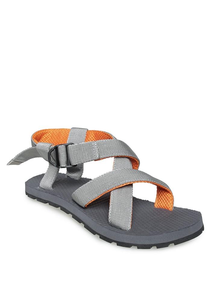 Sepatu Sandal Abu Orange MOUNTAIN SLIPPERS 03 Greenlight