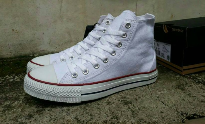 Jual Free Bonus !!! Sepatu Casual Murah Converse High BNIB Made In ... 736413860