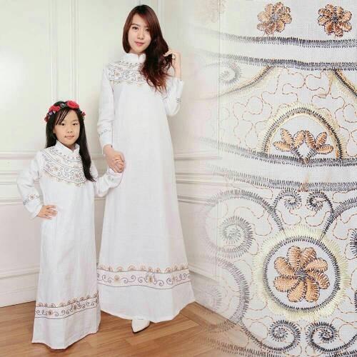 harga Couple mom n kids elegant / dress / gamis / hijab / busana muslim Tokopedia.com
