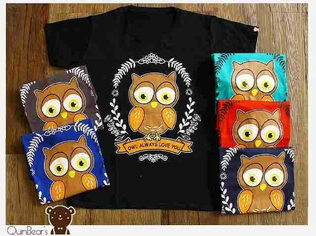 harga 3961 kaos wanita bigsize owl always love you Tokopedia.com