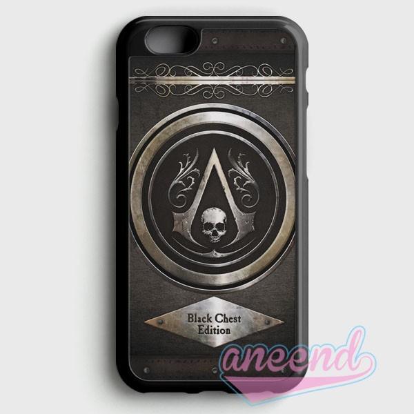 Jual Assassins Creed Black Flag Logo Casing Iphone 6 Plus Dan 6s