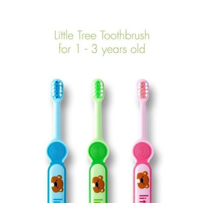 Jual little tree toothbrush 1-3 tahun years old   sikat gigi bayi ... 5c5bc8742a