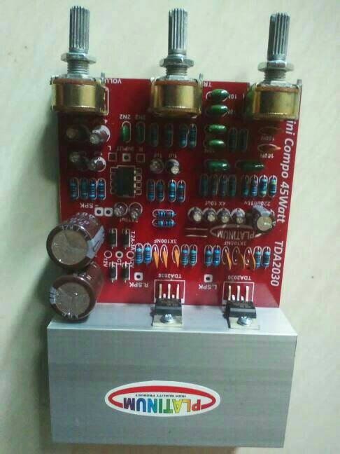 harga Kit power ampli mini compo tda2030/tda2050 45w stereo Tokopedia.com