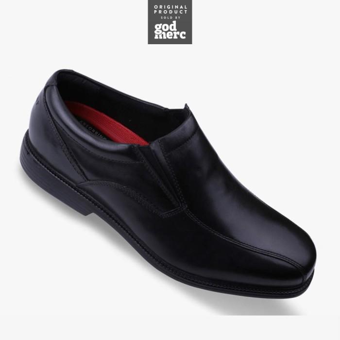 Original rockport charles road slip on men pantofel sepatu v80561 f450088169
