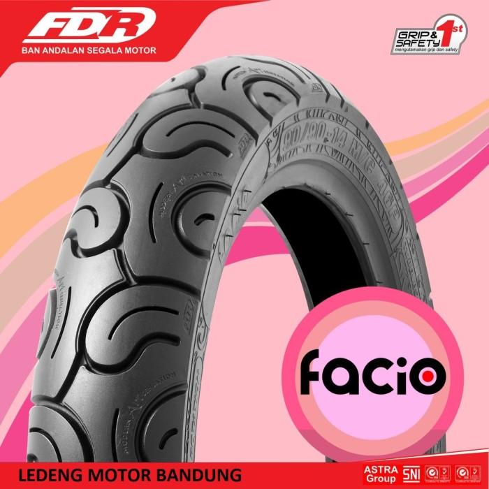 Jual FDR 80 90 14 Facio Ban Motor Matik Tubeless