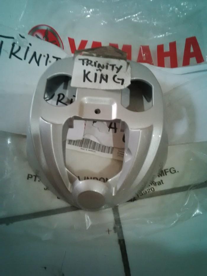 harga Cover hand upper / stang yamaha fino fi original-silver Tokopedia.com