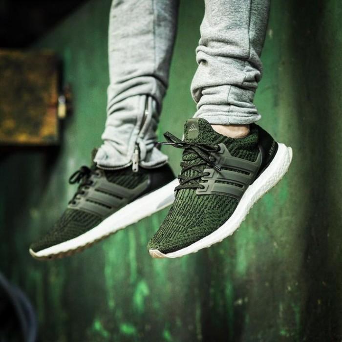 Women's Adidas Ultra Boost 3.0 Running Shoes Mystery Blue