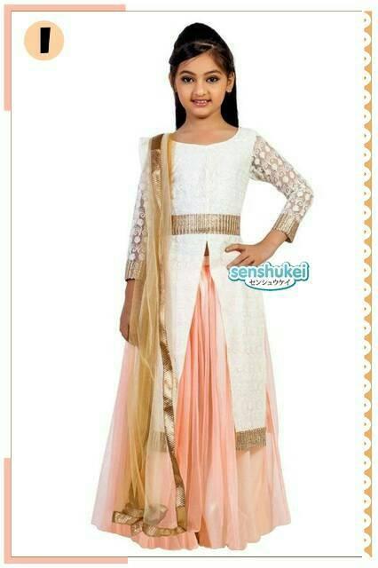 ... harga Sari india baju gamis anak baju muslim setelan anak perempuan  impor Tokopedia.com 52f09a4410