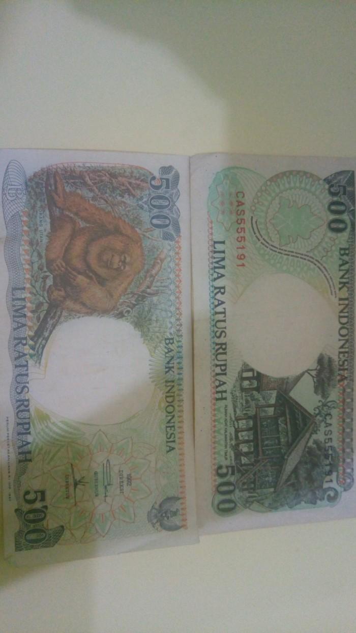 Gambar Uang Lima Ratus Ribu Jual Uang Rp 500 Lima Ratus Rupiah Gambar Monyet Kab Bogor