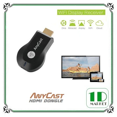 harga Anycast wifi hdmi dongle for smartphone - wireless display receiver Tokopedia.com