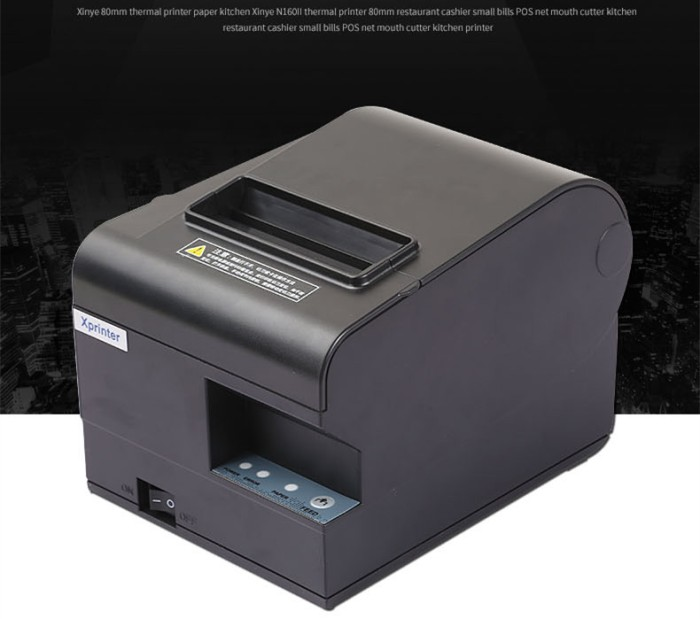 Jual Mini Printer Thermal 80mm Struk Kasir Toko SPBU ...