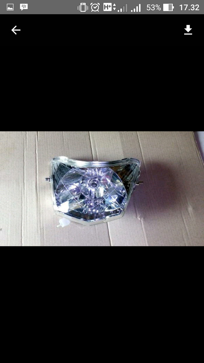 Foto Produk refector lampu vega r lama dari Ridho jaya motor