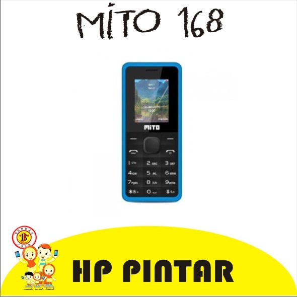 harga Handphone candybar mito 168 dual gsm camera bluetooth mp3 lcd 1.8 inch Tokopedia.com