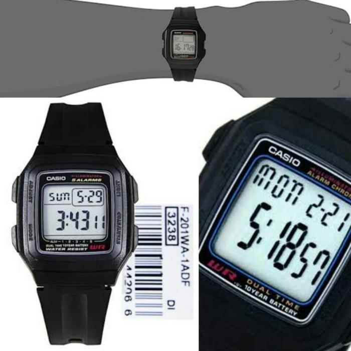 harga Jam tangan casio f 201wa 1a jam tangan casio f201 jam tangan original Tokopedia.com