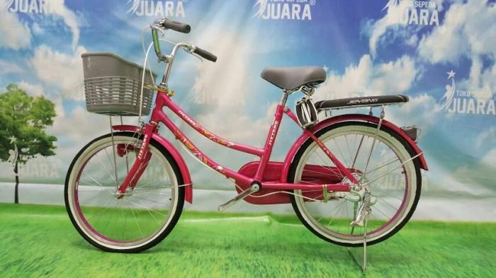 harga Sepeda mini jieyang century classic pink 20 inci keranjang plastik Tokopedia.com