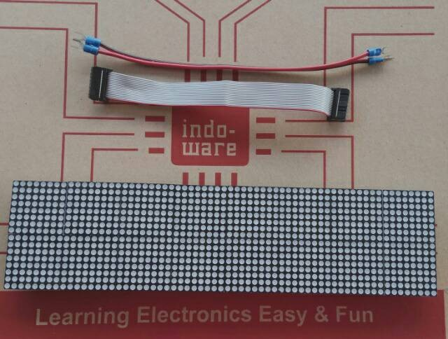 harga F3.75 Indoor Red Led Module 64*16 Dot Matrix Dot Matrix Tokopedia.com