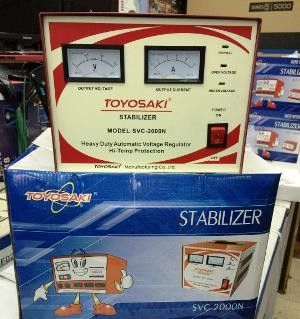 harga Stabilizer/penstabil daya toyosaki 2000w svc - 2000 n kirim via gojek Tokopedia.com