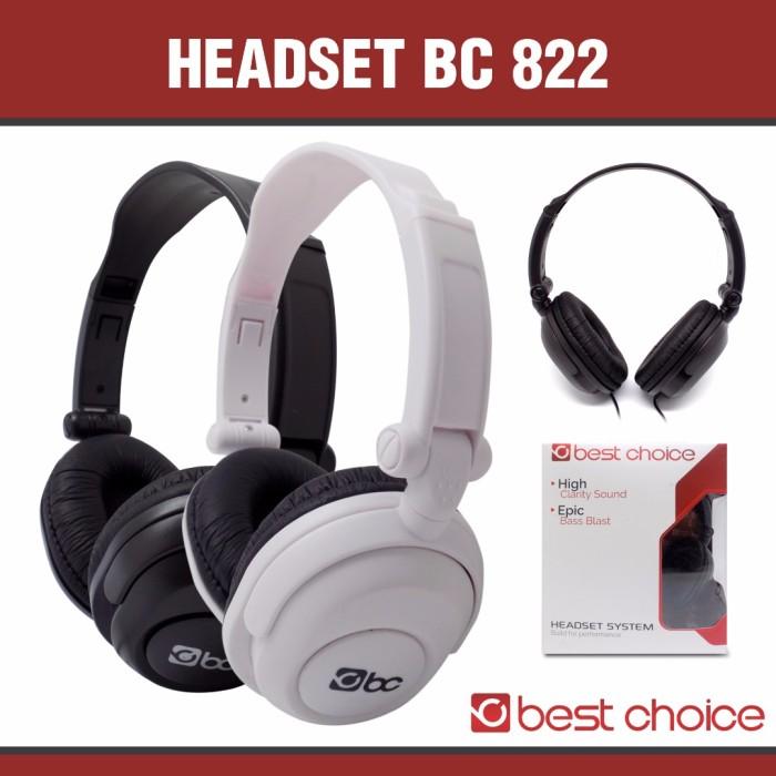 harga Headphone / handsfree bc best choice 822 super bass Tokopedia.com