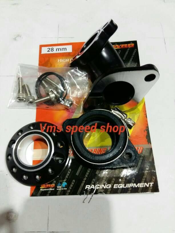 harga Intake manifold miring wrd racing universal motor bebek pe28 Tokopedia.com