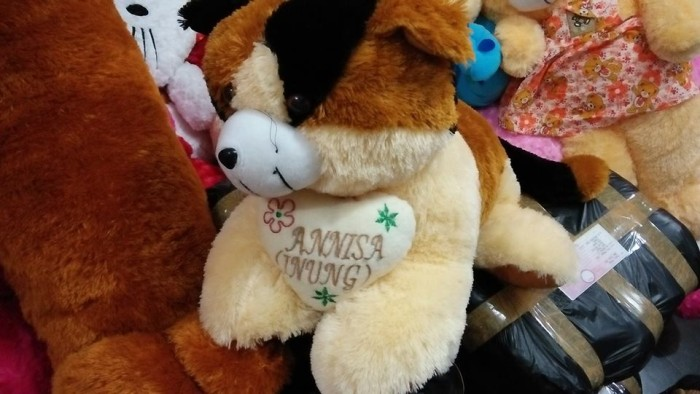 Foto Produk boneka kucing jumbo ukir nama + bantal dari NN BONEKAKU