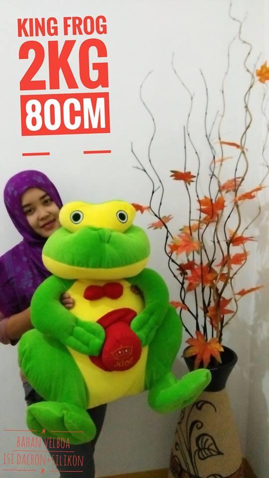 Foto Produk boneka king frog / boneka kodok jumbo dari NN BONEKAKU