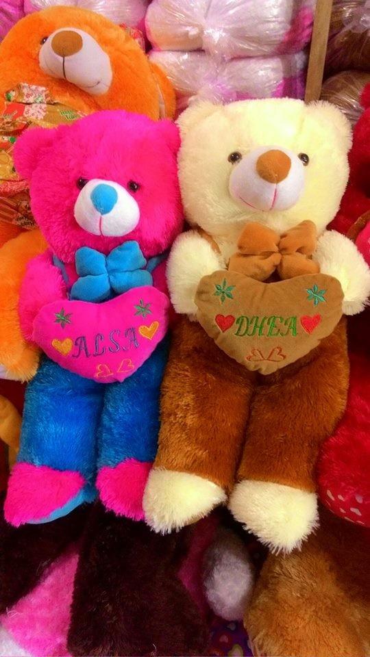 Foto Produk Boneka bear jojon XL ukir nama dari NN BONEKAKU