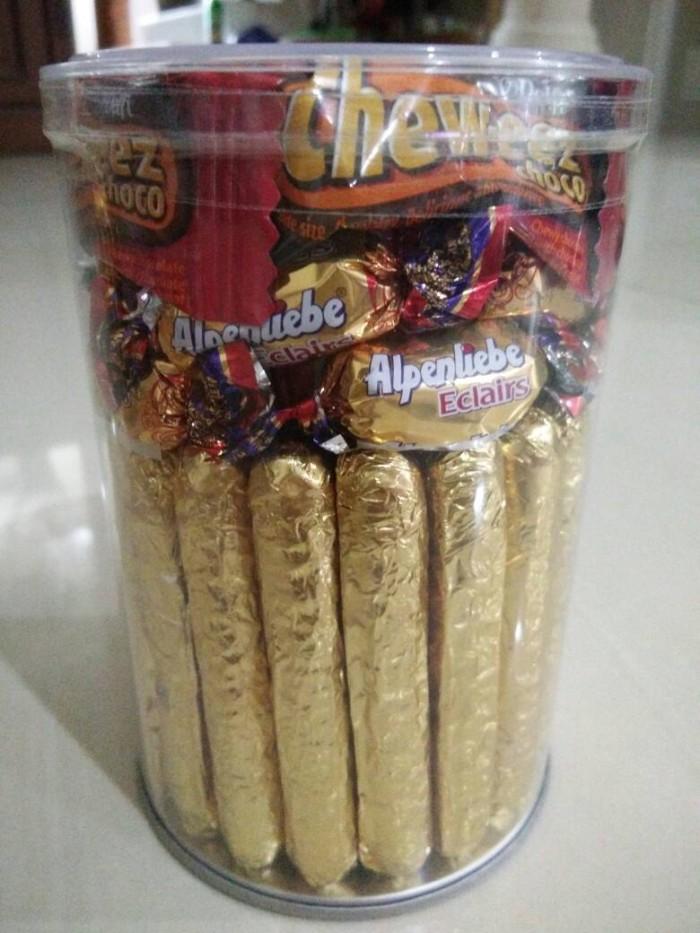 harga Choco mix emas / coklat kiloan / delfi / ceres tabung t.14cm (500gr) Tokopedia.com