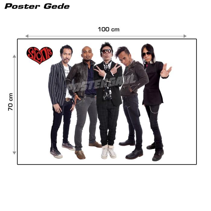 harga Poster slank #15b - gede 70 x 100 cm Tokopedia.com