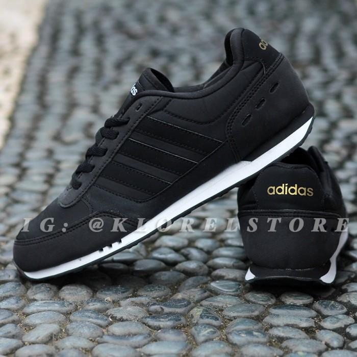 premium selection c0c43 5967e ... authentic adidas neo city racer original black gold 723e6 2c538