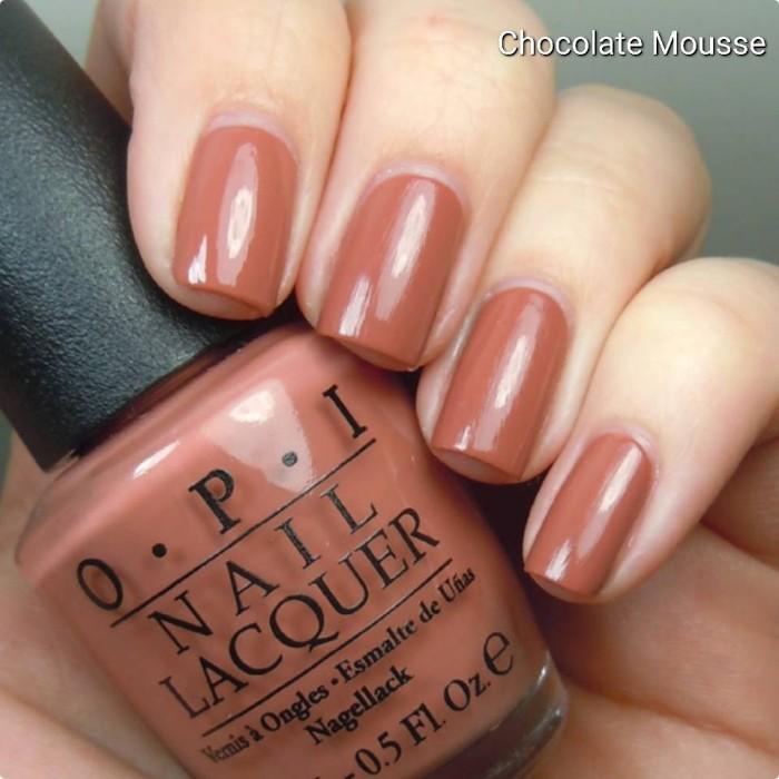 harga Original o.p.i nail lacquer (opi chocolate mousse) Tokopedia.com