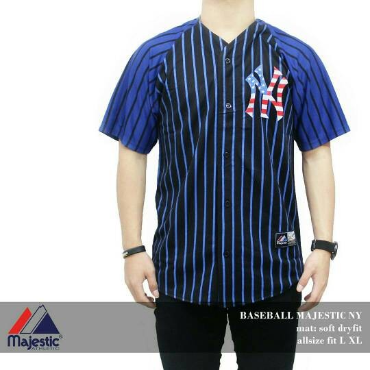 ac4b6367d discount jersey baseball new york yankees original 89be2 567bd; best baju jersey  baseball majestic usa new york ny yankees sox dd7e3 a62e4