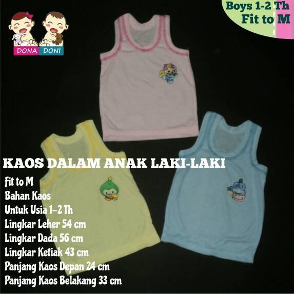 Gema Singlet Bayi Kaos Dalam Bayi Anak Nice Kids 12pcs Daftar Source · KAOS DALAM ANAK LAKI LAKI SINGLET ANAK USIA 1 2 TAHUN